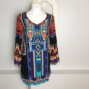 Flying Tomato | Colorful Tribal Dress M